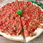 Pizza z miesem mielonym