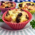 Muffinki jajeczne ze szpi...