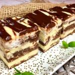 Łaciate - ciasto