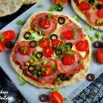 FLATBREAD PIZZA Z PATELNI