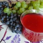Kisiel z winogron