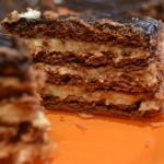 Ciasto na kakaowych...