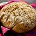 Chleb z pieczonymi...