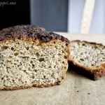 Chleb zytnio - owsiany na...