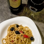 Spaghetti z pesto i...