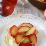 Jablkowe Crêpes Suzette