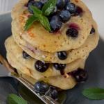 Pancakesy z borówkami
