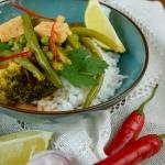 Czerwone curry z tofu i...