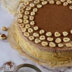 Ciasto z kremem Nutella...