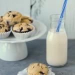 Muffinki z borówkami...