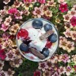 Jogurtowy deser z lodami...