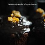 muffiny czekoladowo - pom...