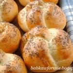 bułki pszenno - żytnie