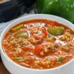 Rozgrzewająca zupa...