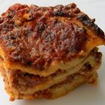 Lasagne bolognese...