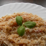 Risotto pomidorowe...