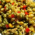 Salatka - jaglanka z kurc...