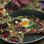 Schrzaniony omlet z botwi...
