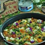 Omlet z tunczykiem i jarm...