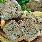 Chleb kurki z borowikami