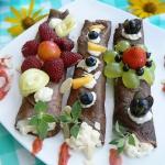 Letnie czekoladowe nalesn...