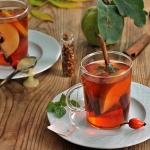 Jesienna herbata z pigwą