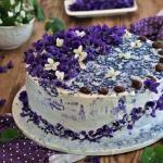 Tort fiolkowy
