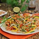 Salatka tajska z krewetka...