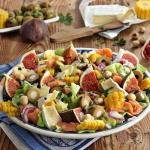 Salatka pod figami