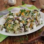 Ziemniaczana salatka z pi...