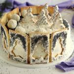 Tort makowo orzechowy...