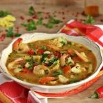Pikantna zupa rybna z...