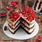 Tort słony karmel w...