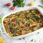 Zapiekanka omletowa z...