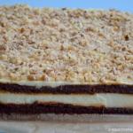 Tort serowo - piernikowy