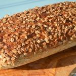 Chleb żytni z żurawiną
