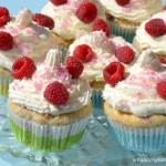 Cupcakes z malinami