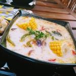 Pikantna zupa z kafirem...