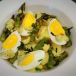 Salatka z zielonych szpar...