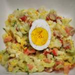 Salatka z ,,jajem