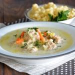zupa serowo - porowa z...