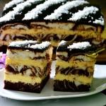 ciasto łaciate z masą...