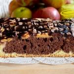 ciasto z jabłkami ...