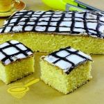 puszyste ciasto cytrynowe
