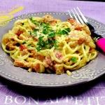 spaghetti carbonara wg Ew...
