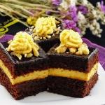 ciasto piernikowe z kreme...