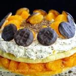 tort pomarańczowy...
