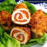 roladki drobiowe z salami
