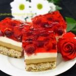 ciasto  Kawowa Wisienka