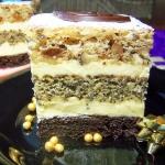 ciasto orzechowo-rumowe